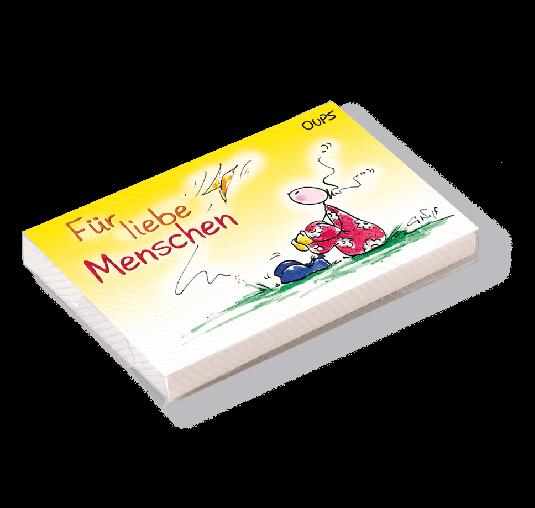 OUPS Kärtchenbox - Für liebe Menschen