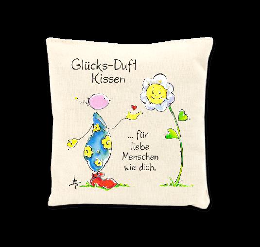 OUPS Duftkissen - Glücks-Duft Kissen für liebe Menschen wie dich.