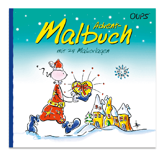OUPS Malbuch - Es weihnachtet...