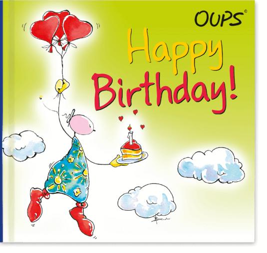 OUPS Minibuch - Happy Birthday