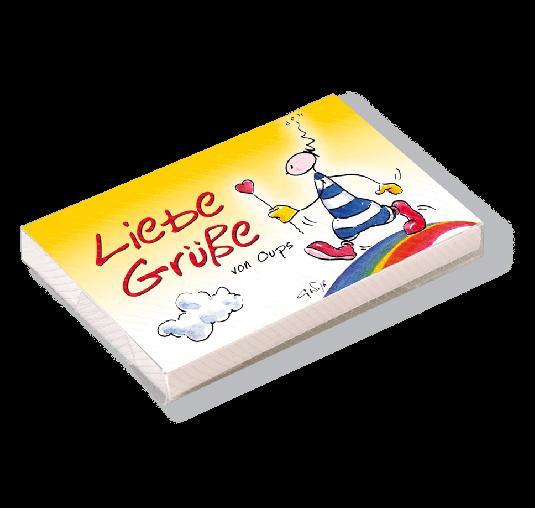 OUPS Kärtchenbox - Liebe Grüße