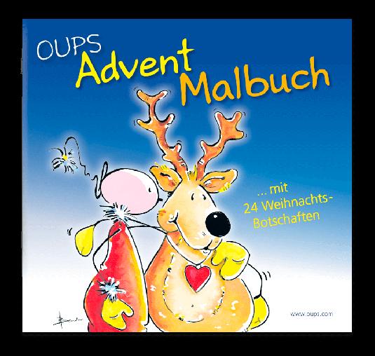 OUPS - Advent-Malbuch