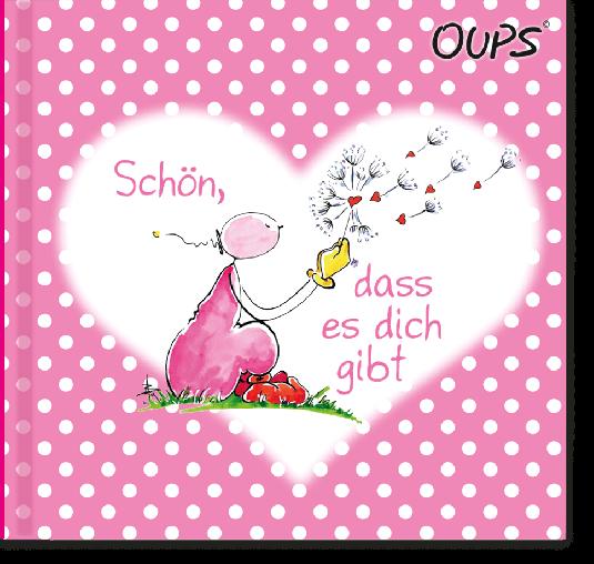 OUPS Minibuch Rosa - Schön, dass es dich gibt