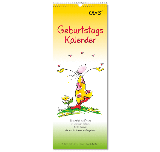 OUPS-Geburtstagskalender