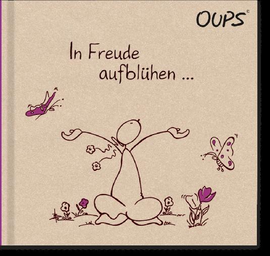 OUPS Buch - Natur Lila In Freude aufblühen...