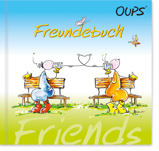 Oups Freundebuch