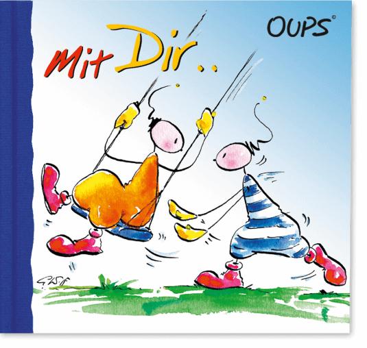 OUPS Minibuch - Mit Dir...
